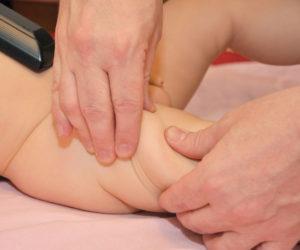 прием массажа разминание