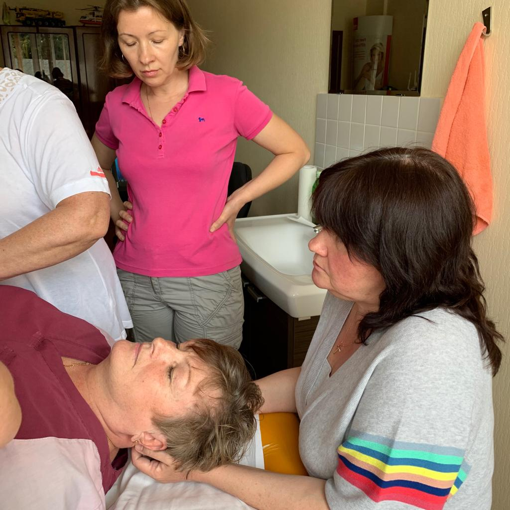 мастер-класс по лимфодренажу